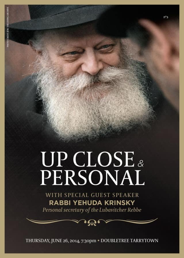 The Rebbe, Rabbi Menachem Mendel Schneerson, will be honored during a lecture on Thursday, June 26, which marks the 20th anniversary of his death.
