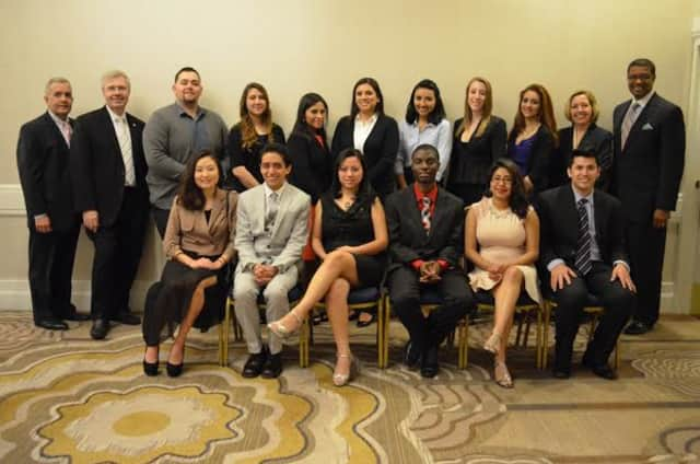 Westchester Community College's Student Leadership and Professional Development Program held its annual celebratory dinner recently at the Crowne Plaza Hotel in White Plains.