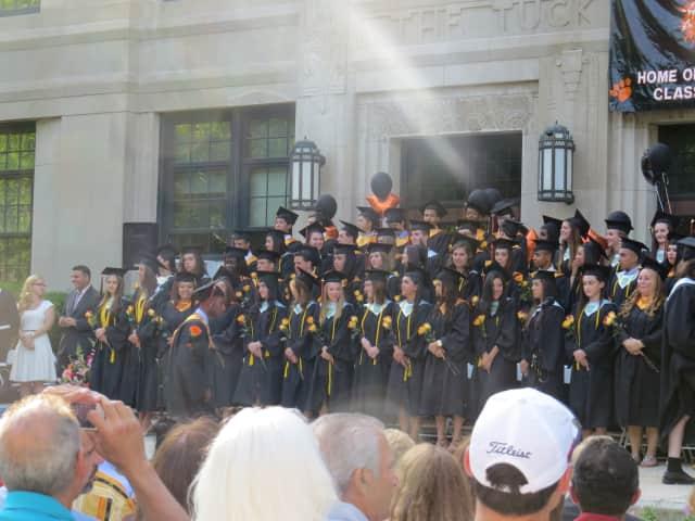 The Tuckahoe High School Class of 2014.