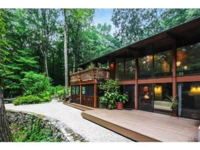 The house at 101 Indian Hill Road in Wilton is open for viewing on Sunday.