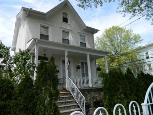 The house at 295 North Washington St. in Sleepy Hollow is open for viewing on Sunday.