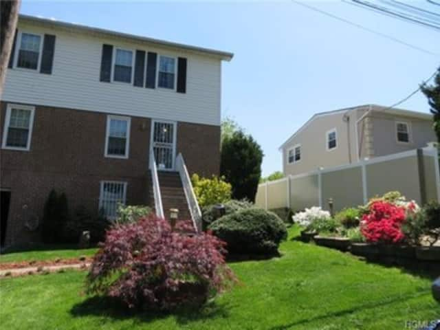 This house at 104 Ridgeview Ave. in Yonkers is open for viewing on Sunday.