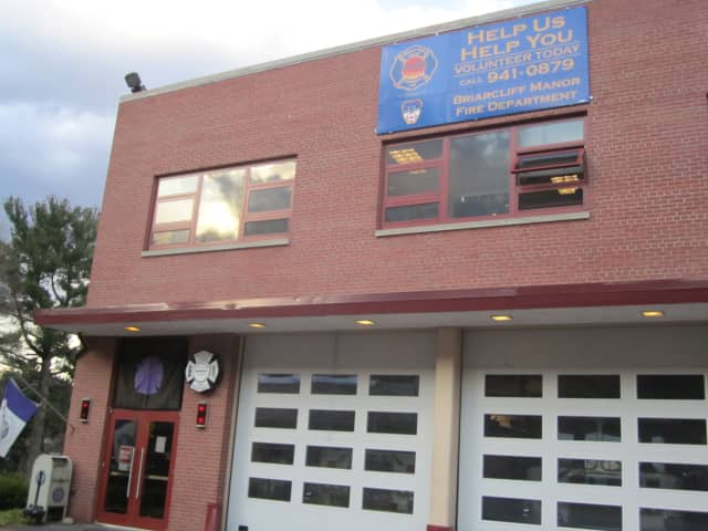 Briarcliff Manor Fire Department.