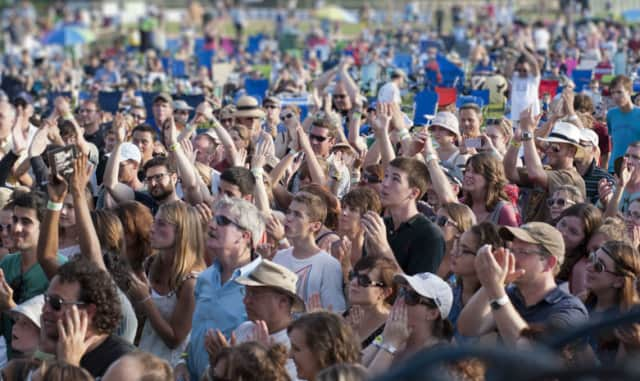 Thousands flock to Pleasantville for its annual music festival.