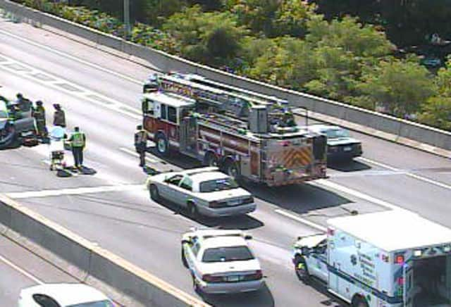 Multi-Vehicle Crash Cleared From On I-95 In Stamford | Westport