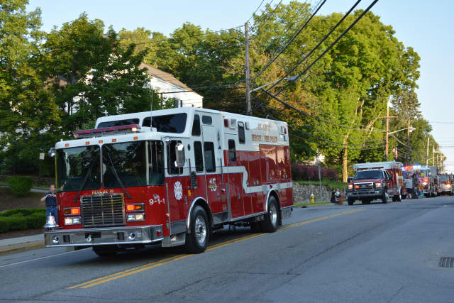Adults and children can ride a fire truck Oct. 18 at the Mount Kisco Volunteer Fire Department's open house.