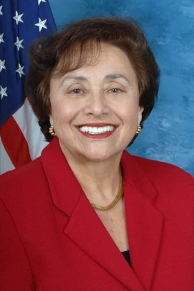 U.S. Rep. Nita M. Lowey and IRS representatives gathered in White Plains to warn residents not to fall for scammers posing as government representatives.