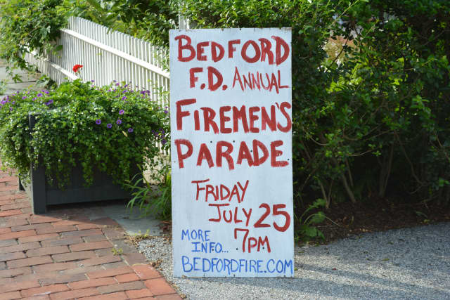 Bedford Fire Department will be hosting its annual Firemen's Parade on Friday, July 25 at 7 p.m.