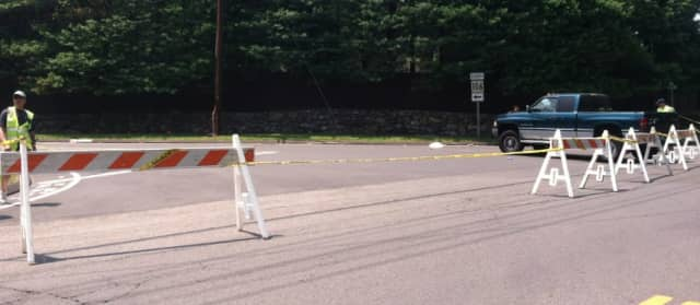 A 71-year-old New Canaan Public Works employee was seriously injured after he was struck by a vehicle Wednesday morning.