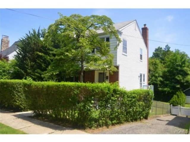 This house at 54 Maple Ave. in Pelham is open for viewing on Sunday.