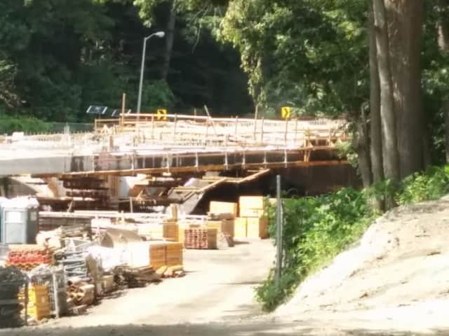 Work near the Crane Road bridge along the Bronx River Parkway will force lane closures Monday and Tuesday.