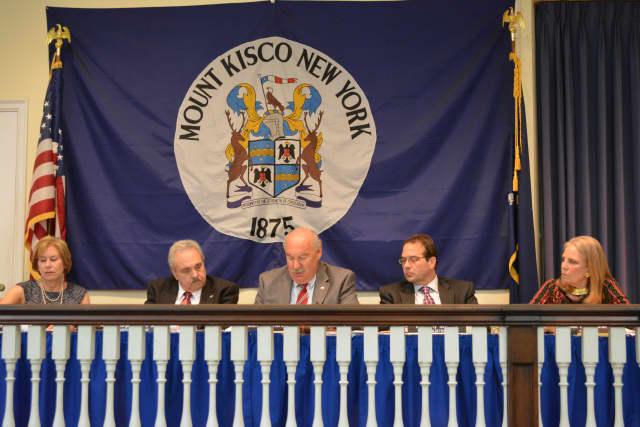 Mount Kisco's Village Board of Trustees.