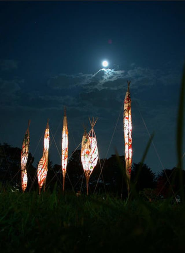 A moonviewing concert will be held at Hammond Museum and Japanese Stroll Garden.