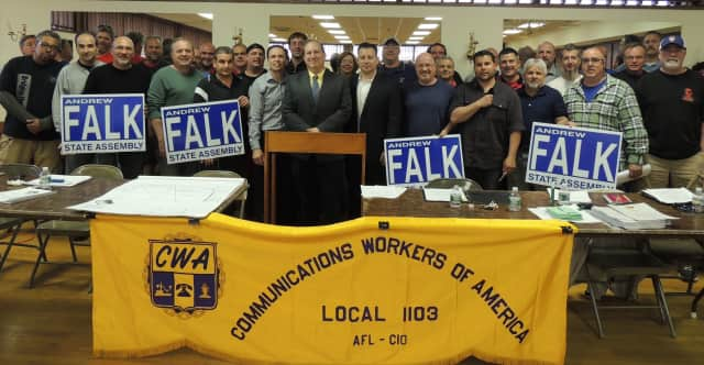 Communications Workers of America endorse Andrew Falk  in the 94th Assembly District race.