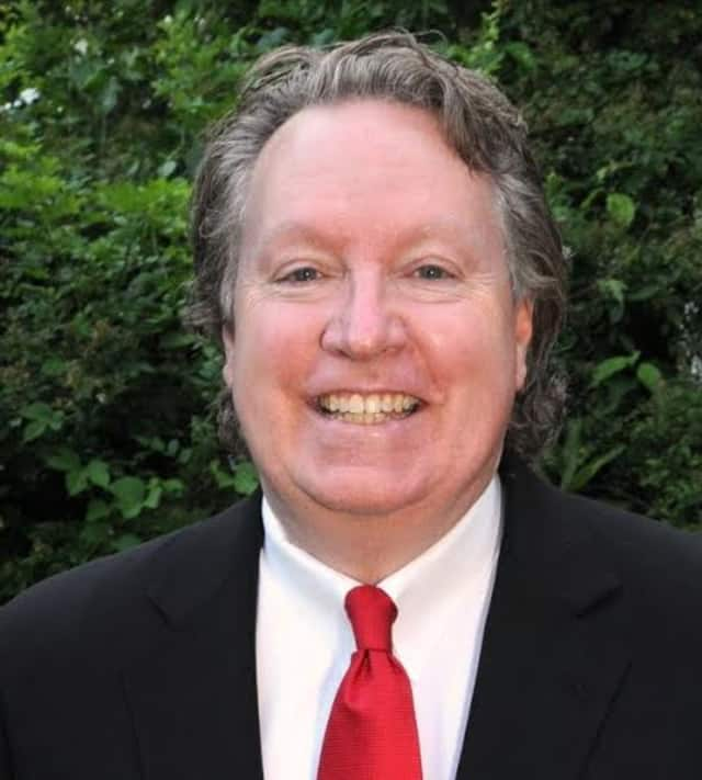 Legislator Michael Smith announces passage of bond to renovate a Mount Pleasant road.