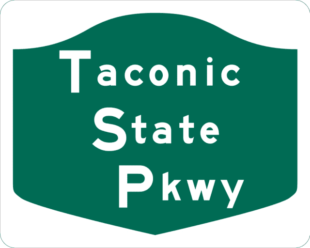 A stretch of the Taconic Parkway is closed due to a car fire late Friday morning, March 22.