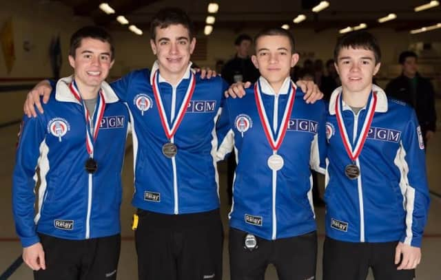 Briarcliff's Andrew Stopera has been selected to train with the U.S. Men's Curling Team.