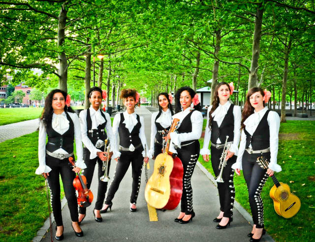 Mariachi Flor de Toloache will play after the salsa-making competition.