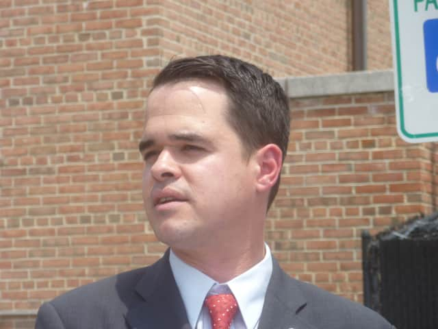 State Sen. David Carlucci was honored at a brunch held by Rockland Jewish Family Services Sunday.