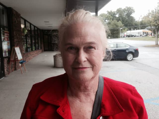 Donna Mokszycki sais she heard nothing the night of the reported incident.