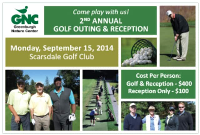 Greenburgh Nature Center will host its second annual golf outing and reception in September.