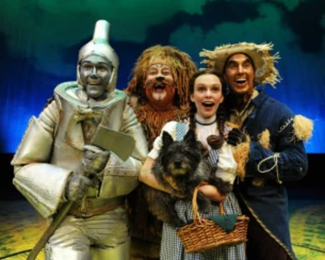 """Westchester Broadway Theatre is presents """"The Wizard Of Oz"""" through Sept. 21."""