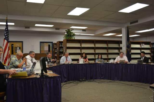 File Photo: the Katonah-Lewisboro school board.