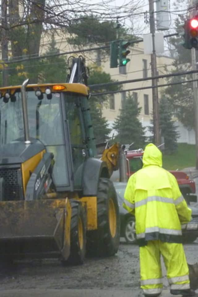 Road repairs will continue in Ardsley through Thursday, Aug. 28.