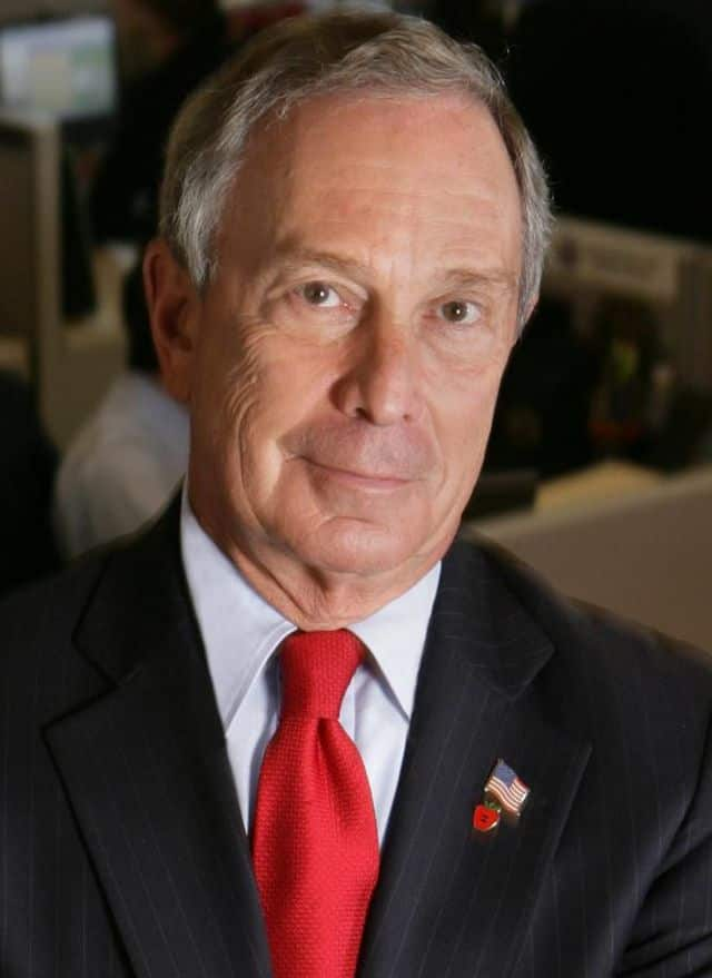 Former New York City Mayor Michael Bloomberg, who owns an estate in North Salem.