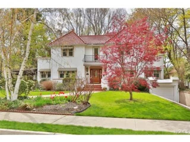 The house at 525 Bellwood Ave. in Sleepy Hollow is open for viewing on Sunday.