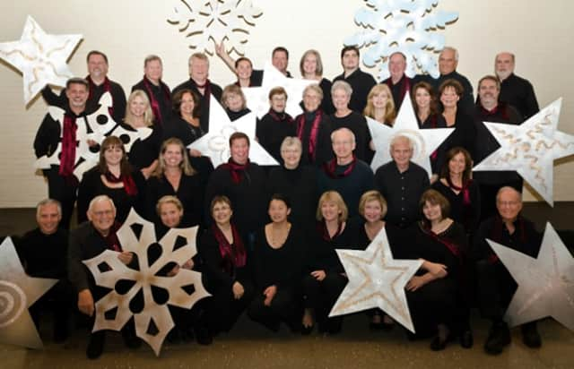 The Wilton Singers pose for a photo in 2013.