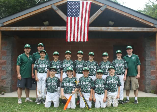 The Pleasantville Green 11U completed its season, with 8-8.