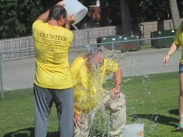 A massive Ice Bucket Challenge event took place in Yonkers to benefit ALS research.