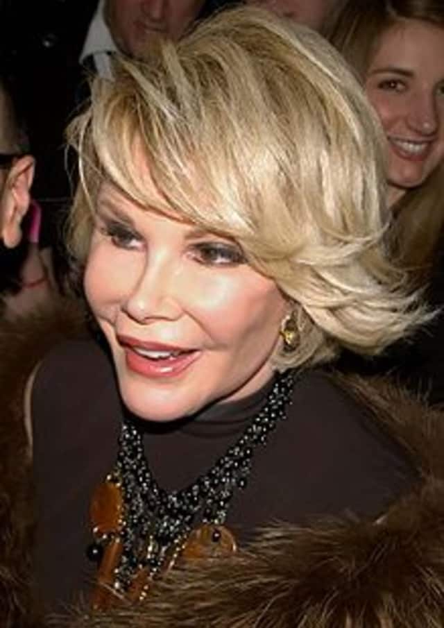 Former Larchmont resident Joan Rivers remains in a medically induced coma.
