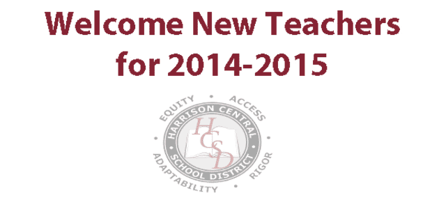 The Harrison school district welcomes 30 new teachers for the 2014-15 school year.