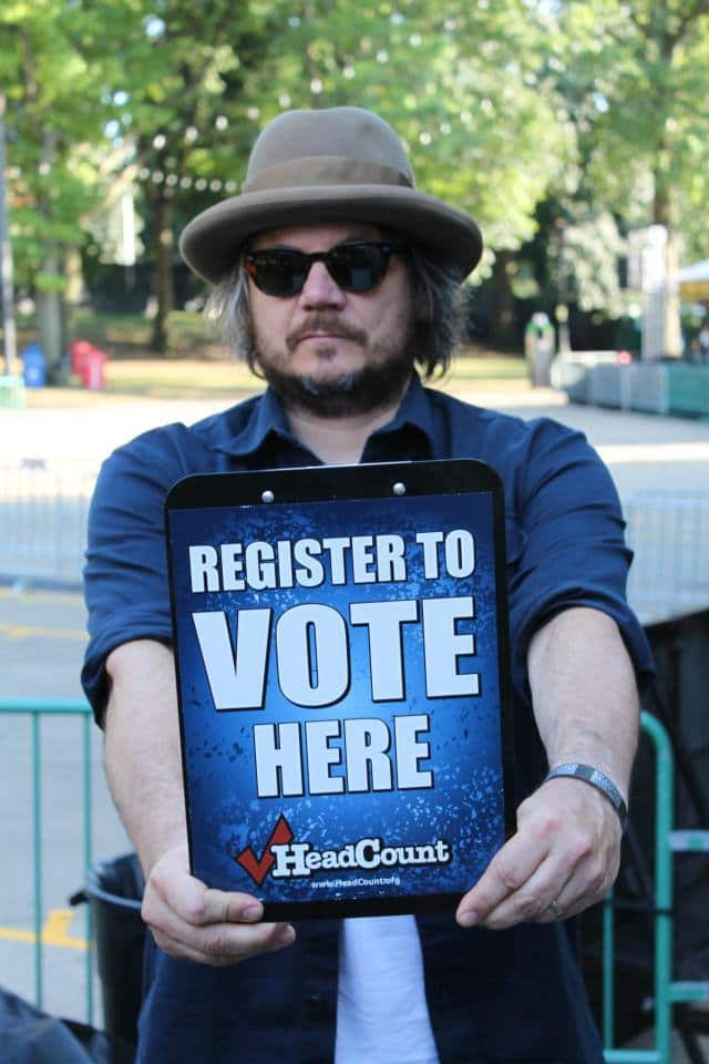 Capitol Theatre, Wilco and Ticketfly are teaming up to donate a portion of ticket proceeds to the #Go Vote campaign.