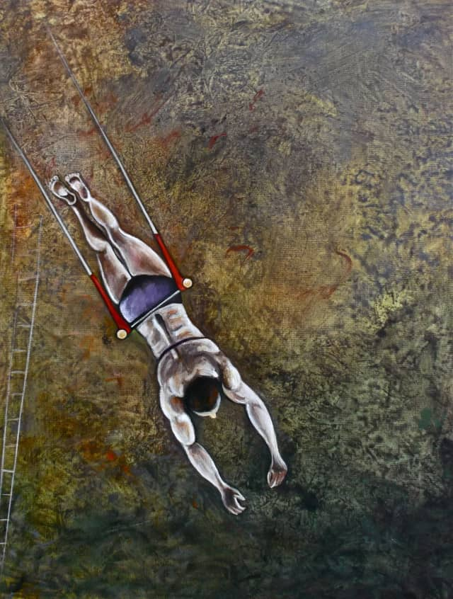 """""""Hovering"""" is one of the more than 80 pieces that will be featured on the """"Aerial & Altered Views"""" exhibit opening Sep. 5 at the Wilton Library."""