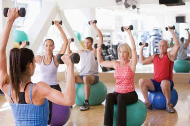 Group Fitness classes are offered at Scarsdale Adult School.