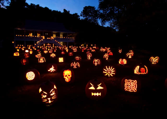 The Blaze package features a walk-through of more than 5,000 illuminated Jack O' Lanterns at the Van Cortlandt Manor in Croton-on-Hudson.