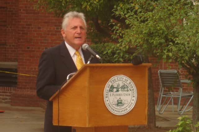 Mayor Harry Rilling talks about the attacks and the country's resolve following Sept. 11.