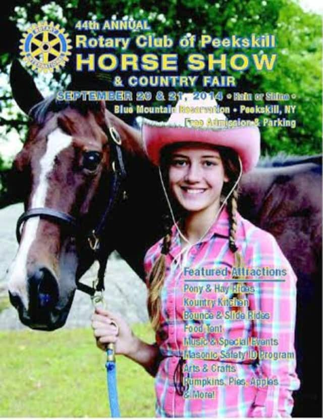 Rotary Club of Peekskill will hold its 45th annual Horse Show and Country Fair on Oct. 3 and 4 at Blue Mountain Reservation.