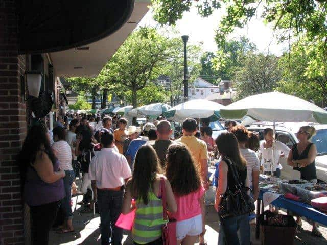 Local businesses and food vendors will serve the community at sidewalk sales days.