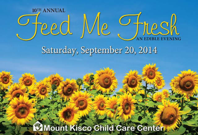 Local restaurants will participate in Mount Kisco Child Care Center's Feed Me Fresh event on Saturday, Sept. 20.