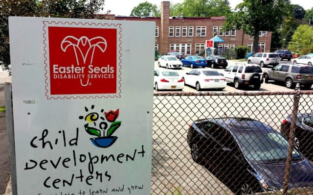 Valhalla Union Free School District approves vote to sell the Columbus Avenue building and adjoining parking lot to Easter Seals New York.