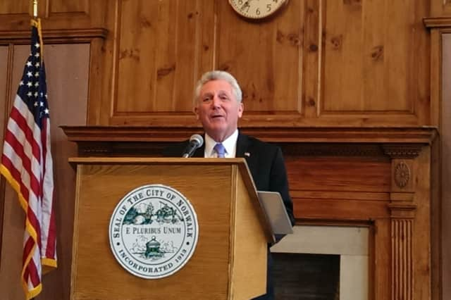 Mayor Harry Rilling will be honored by Norwalk Grassroots Tennis & Education at its Play in May tournament May 7.