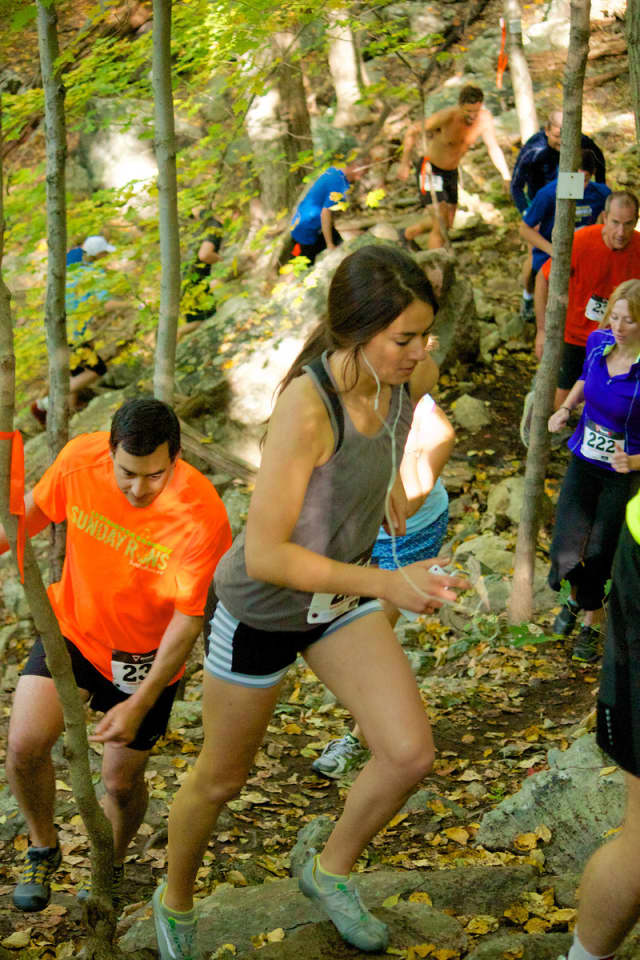 Trail races are being held throughout Westchester and Fairfield counties.
