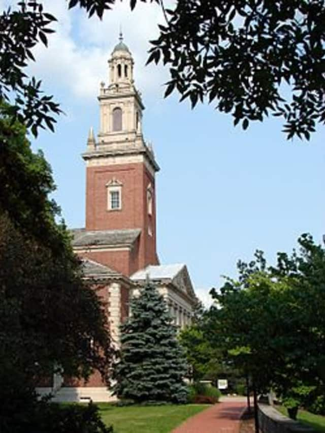 Catherine Miller of New Canaan was awarded a scholarship at Denison University.