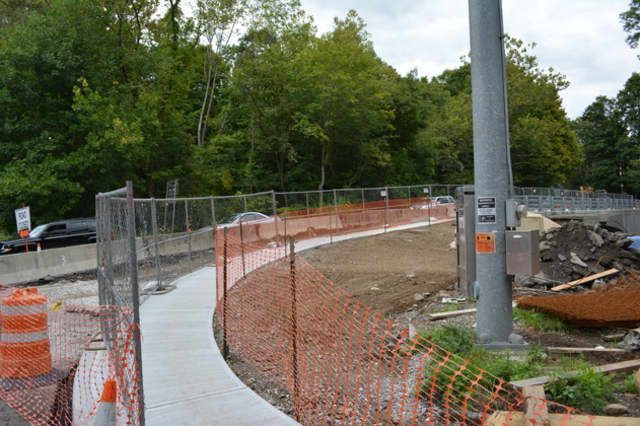 The Croton Falls Road bridge is currently undergoing an overhaul.