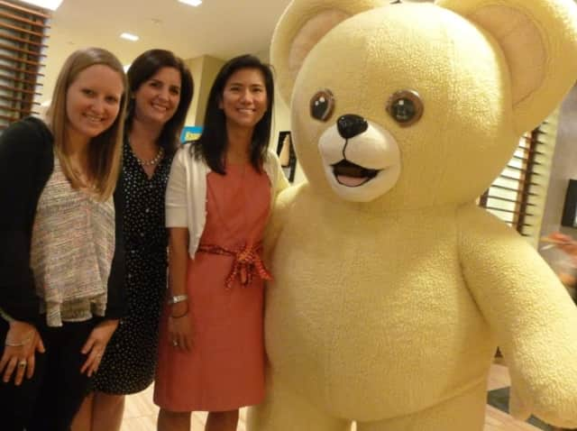 Snuggle Bear, the longtime mascot for Sun Products fabric softeners, will also presumably be moving to Stamford in the coming year.