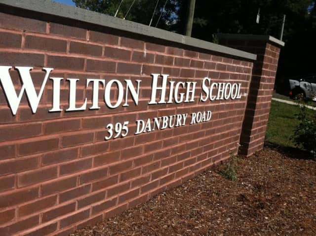 A student has been charged in a swastika incident at Wilton High School.